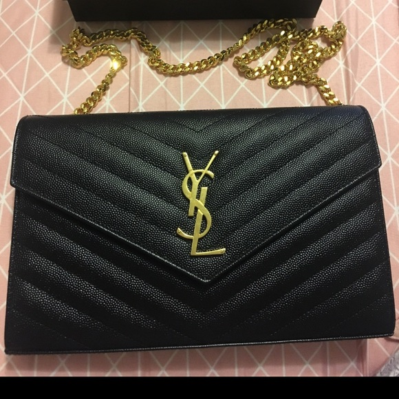 Yves Saint Laurent Bags   Brand New Ysl Bagpurse Authentic   Poshmark 758dacb003